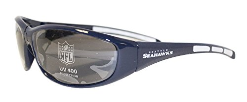 NFL Officially Licensed Team Color 3 Dot Sunglasses (Seattle - Sunglasses Team