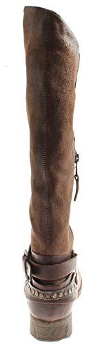 Leg Ladies Isabelle Winter Long Shoes Boots Chocolate 7594 Leather Boots Leather rXdwU6qd