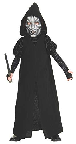 Harry Potter Deluxe Child's Death Eater Costume, -