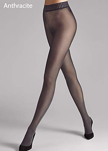 (Wolford Fatal 50 Seamless Tights-Black-Small)