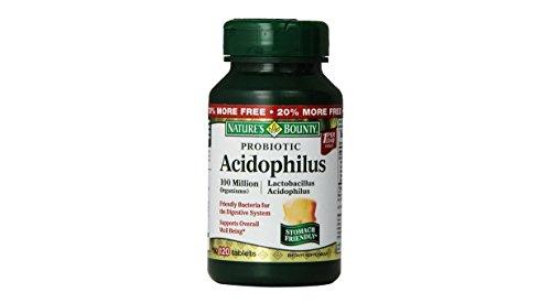 Natures Bounty probiotique acidophilus Compléments alimentaires Capsules - 100 Ea (3 pièces)