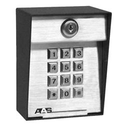 AAS 26-100L Advantage DKE Post Mount Digital Keypad 100 Code Capacity by American Access Systems