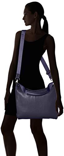 Tracolla Duck A Blue Mellow Blu Borsa Leather Spalla Mandarina Donna dress wtdpgqxp1