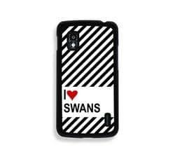 Love Heart Swans Google Nexus 4 Case - Fits Nexus 4