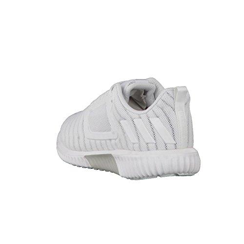 Adidas Climacool Cw Damen Laufschuhe, Weiß - (ftwbla / Ftwbla / Plamet) 38 Ftwr Bianco / Ftwr Bianco / Argento Met.