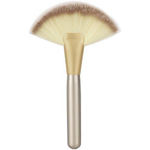 Babysbreath Cepillo de maquillaje de ventilador delgado cepillo de mezcla de maquillaje cepillo del contorno de cara