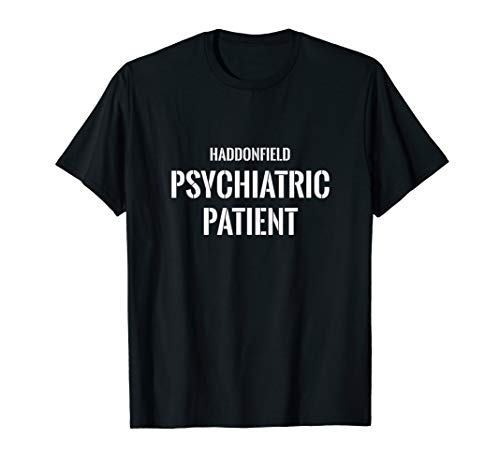 Psychiatric Patient Halloween (Haddonfield Psychiatric Patient Halloween Funny Novelty Gift)