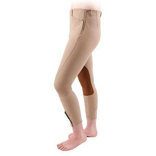 Shires, Ladies Oakland Side Zip Breeches (Olive, -