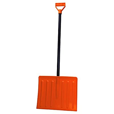 Emsco Bigfoot Series 11.25 in. Kid's Poly Snow Shovel with Steel Core Handle(Model # 1170-1)
