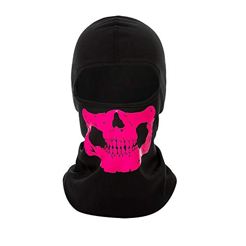 Willsa Halloween Shantou Mask Sunscreen Windproof Dustproof CS Ghost Reflective Mask -