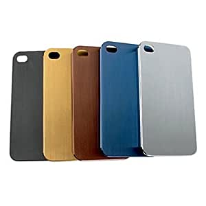TL Ultrathin Purity Metal Back Case for iPhone 4/4S