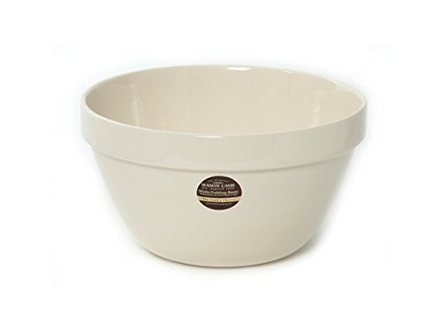 Mason Cash Steam Bowl (British Term - Pudding Basin), Cream, 2.75-Quart