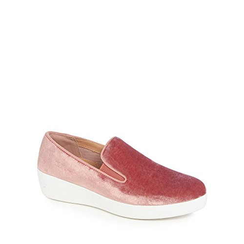 Trainers Superskate Natural Velvet Womens Fitflop xqIHwBZOw