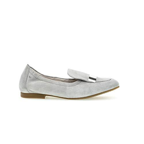 Shoes Mocasines 19 Gabor grau Para Casual Gris Mujer HFnxw4Cq