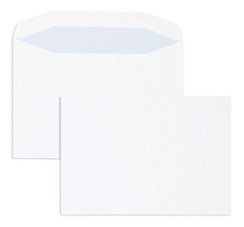 KuGrünierhüllen     Premium   178 x 254 mm Weiß (500 Stück) Nassklebung   Briefhüllen, KuGrüns, CouGrüns, Umschläge mit 2 Jahren Zufriedenheitsgarantie B01DW3KO2A | Primäre Qualität  74829b