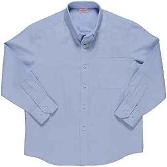 Minime Camisa Niño Azul Celeste Oxford
