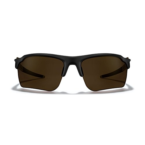 ROKA TL-1 APEX Advanced Sports Performance Sunglasses - Matte Black Frame - Bronze (Polarized) Lens