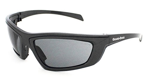 Guard-Dogs, Aggressive Eyewear Sidecars 4 Sunglasses Gun Metal Smoke - Sides Eyewear
