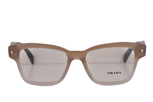 Prada PR10SVF Eyeglasses 51-17-140 Transparent Grey Gradient UBJ1O1 VPR10SF For Women (FRAME - Prada Eyeglasses Wayfarer