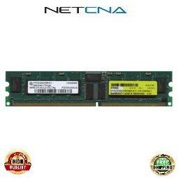 HP-256MB-DDR-2700R 256MB Hewlett Packard 184-pin PC2700 DDR333 Registered ECC SDRAM DIMM 100% Compatible memory by NETCNA USA