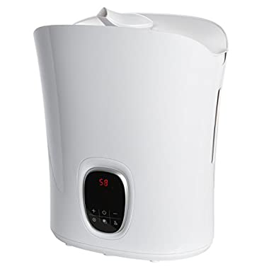 Ivation Digital Humidifier w/LCD Control Panel – Features Warm & Cool Mist, Timer, Auto Shutoff, Aroma Compartment & More