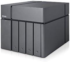 Qsan XCubeNAS XN5004T - Cabina de Almacenamiento, Color Negro