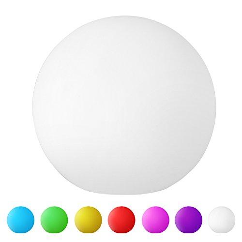 Jago Stimmungslicht mit Set- und Formwahl in 7 verschiedenen Licht-Farben inkl. 3 Knopfzellen-Batterien und 3 Ersatzbatterien