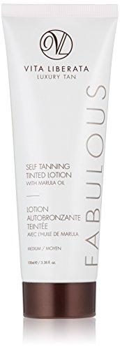 Vita Liberata Fabulous Self Tanning Tinted Lotion, Medium, 3.38 Fl Oz (Best Gradual Self Tanning Lotion)