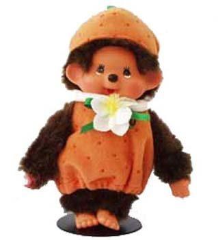 Monchichi Costume (Monchhichi Fruit Costume Orange Plush Doll by Monchhichi)