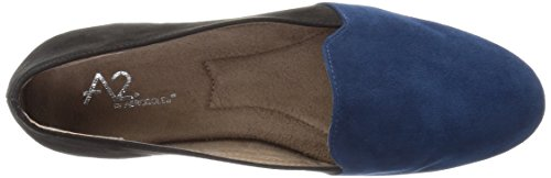 Blue Dark Combo Women's Aerosoles On Call Good by Loafer A2 Slip 6qRqz1