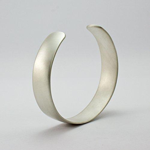 (Sterling Silver Domed Cuff Bracelet)