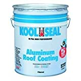 KST COATINGS  KST020496-20 Premium Aluminum Roof Coating, 5-Gallon