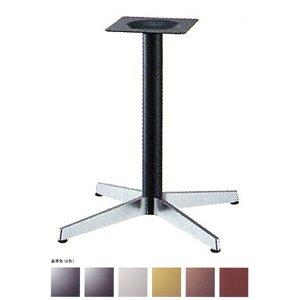 e-kanamono テーブル脚 ベストS2800 ベース575x575 パイプ60.5φ 受座240x240 ショットクローム/塗装パイプ AJ付 高さ700mmまで 黒メラ焼塗装 B012CF0INE 黒メラ焼塗装 黒メラ焼塗装