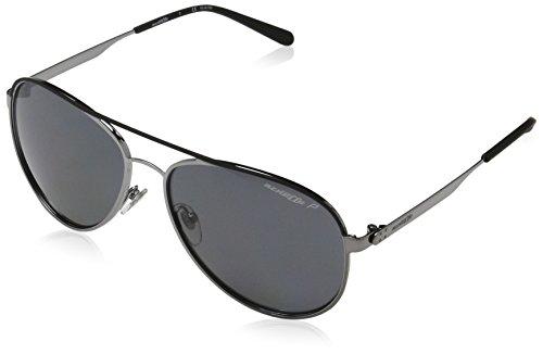 Arnette Sunglasses Dweet 3071 679/81 Black Rubber Gunmetal Grey - Aviators Arnette
