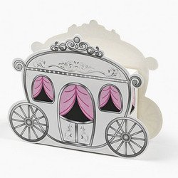 12 Mini Carriage Treat Boxes ()