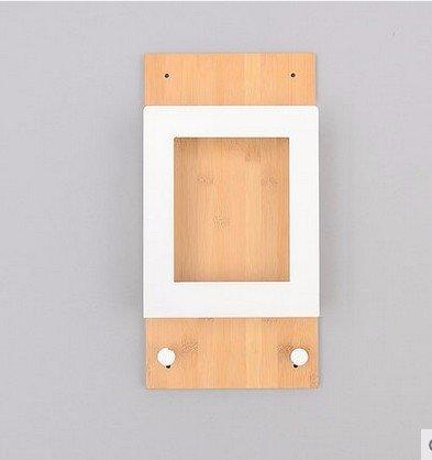 Creative mampara estanterías de pared estantería de hierro ...