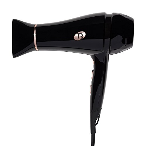 T-3 Featherweight 2 Hair Dryer Infrared Technology 2 Speed And 3 Heat Settings (Featherweight 2, Black) by Salon Trends