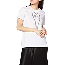 Diesel T-Shirt Women A002600PAZL Cotton White Fall Winter 2020