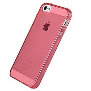 comprar Caso transparente de TPU para el iphone 5 , Rosa