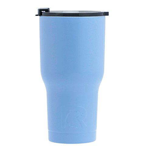 RTIC Double Wall Vacuum Insulated Tumbler, 20 oz, Carolina Blue