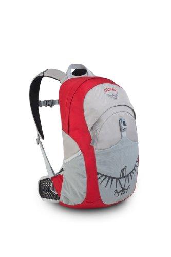 Osprey Kid's 18-Litre Jet Daypack (Cherry Shake, One Size), Outdoor Stuffs