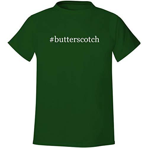 #butterscotch - Men's Hashtag Soft & Comfortable T-Shirt, Forest, Medium (Square Market Lake Forest Christmas)