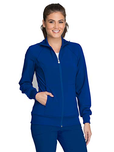 Cherokee Infinity 2391A Zip Front Warm-Up Jacket Galaxy Blue S