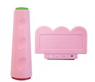 Konad Nail Art Double Ended Stamper and Scraper, 1.7 Ounce Mintex Rx Inc
