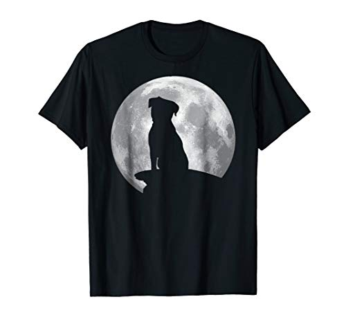 Border Terrier Eclipse Full Moon T-shirt Halloween