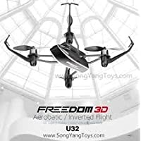 UDI SAVA U32 Quadcopter Drone Toy | Inverted Flight | Fly In The Dark and do 360º Flips and Stunts | Headless Mode, One Key Return