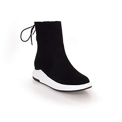 Sandales Balamasa Compensées Abl11183 Noir Femme 557prq