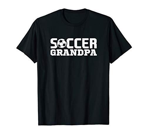 Soccer Grandpa Granddad Granddaddy Grandfather T Shirt