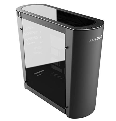 InWin 915 Black 9-Series, Addressable Illuminated LED Control, Full Tower, Tempered Glass