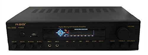 Rsq RSQKA3000 300 vatios Amplificador de Mezcla Digital Multimedia Profesional